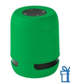 Bluetooth luidspreker handsfree belfunctie groen bedrukken