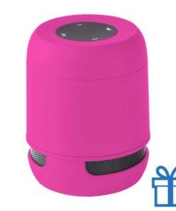 Bluetooth luidspreker handsfree belfunctie roze bedrukken