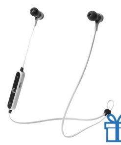Bluetooth oordopjes handsfree wit bedrukken