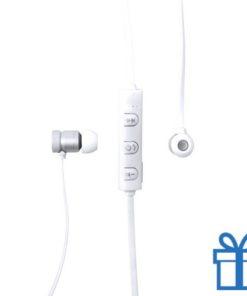 Bluetooth oordopjes oplaadbaar wit bedrukken
