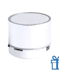Bluetooth speaker accu LED verlichting wit bedrukken