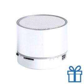 Bluetooth speaker accu LED verlichting wit bedrukken