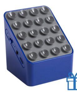 Bluetooth speaker oplader blauw bedrukken
