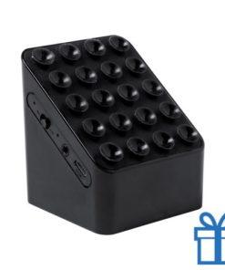 Bluetooth speaker oplader zwart bedrukken