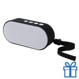 Bluetooth speaker ovaal wit bedrukken
