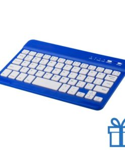 Bluetooth toetsenbord accu blauw bedrukken