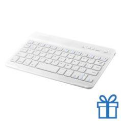 Bluetooth toetsenbord accu wit bedrukken