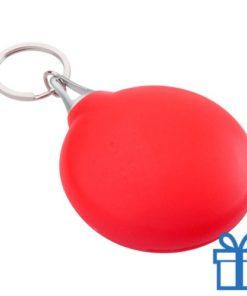 Brillendoekje plastic hoesje rood bedrukken
