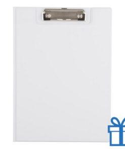 Clipboard PVC wit bedrukken