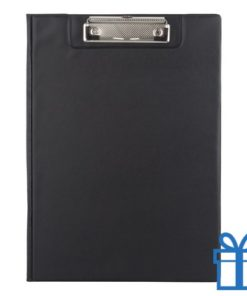 Clipboard PVC zwart bedrukken