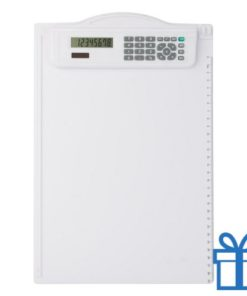 Clipboard rekenmachine bedrukken