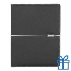 Documentmap A5 notitieboek metalen plaat bedrukken