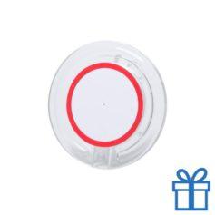 Draadloze telefoonlader goedkoop rood bedrukken