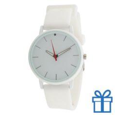 Horloge unisex wit bedrukken