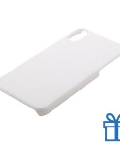 Iphone® x-hoesje goedkoop wit bedrukken