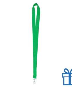 Lanyard poly groen bedrukken