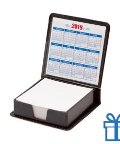 Memohouder leder kalender 2018 bedrukken