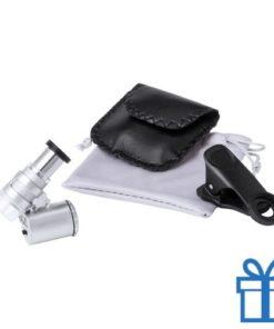 Microscope voor mobiele telefoon bedrukken