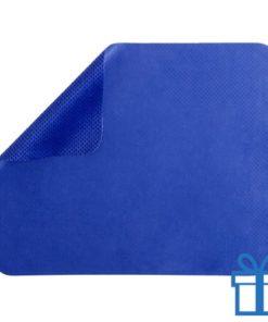 Microvezel muismat cleaner blauw bedrukken