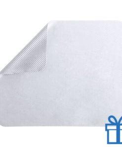 Microvezel muismat cleaner wit bedrukken