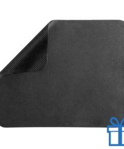 Microvezel muismat cleaner zwart bedrukken