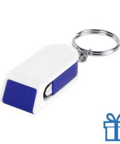 Mobiele telefoonhouder goedkoop blauw bedrukken