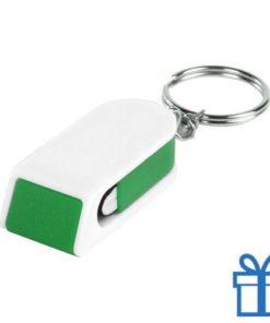 Mobiele telefoonhouder goedkoop groen bedrukken
