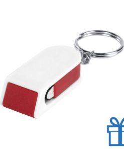 Mobiele telefoonhouder goedkoop rood bedrukken