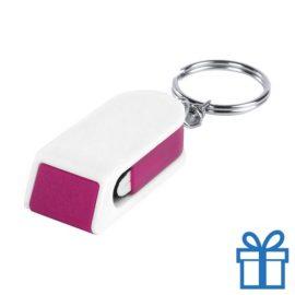 Mobiele telefoonhouder goedkoop roze bedrukken