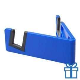 Nobiele telefoonhouder opvouwbaar blauw bedrukken