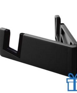 Nobiele telefoonhouder opvouwbaar zwart bedrukken