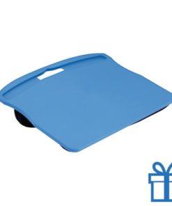 Notebook standaard neopreen blauw bedrukken