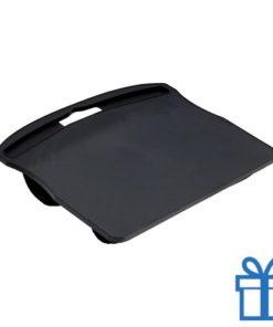 Notebook standaard neopreen zwart bedrukken