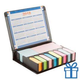 Notitieblok kalendergekleurd bedrukken