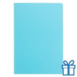 Notitieboek A5 ingebonden blauw bedrukken