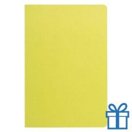 Notitieboek A5 ingebonden groen bedrukken
