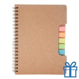 Notitieboek recycle sticky notes bedrukken