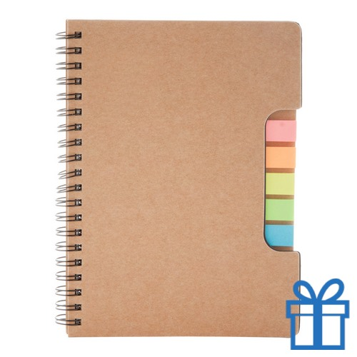 Notitieboek recycle sticky notes bedrukken