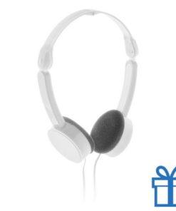 Opvouwbare hoofdtelefoon goedkoop wit bedrukken