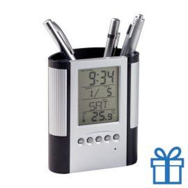 Pennenhouder klok thermometer bedrukken