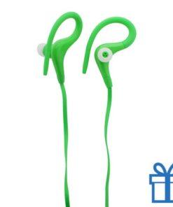 Plastic oordopjes goedkoop groen bedrukken