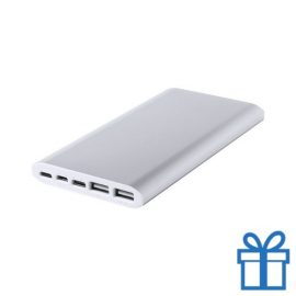 Power bank 10000 mAh 2 poorten bedrukken