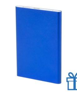 Power bank 2200 mAh USB type C blauw bedrukken