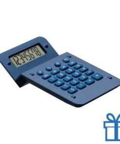 Rekenmachine goedkoop display blauw bedrukken