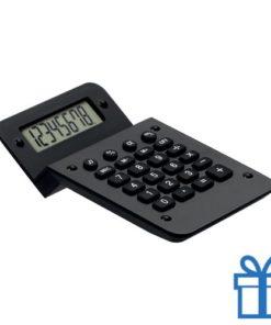 Rekenmachine goedkoop display zwart bedrukken