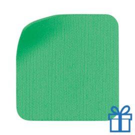 Scherm cleaner zelfklevend microvezel groen bedrukken