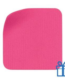 Scherm cleaner zelfklevend microvezel roze bedrukken