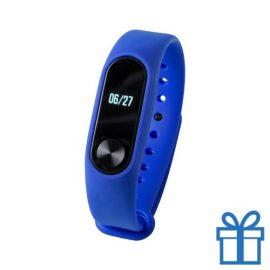Smart watch 0,42 inch OLED blauw bedrukken