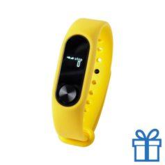 Smart watch 0,42 inch OLED geel bedrukken