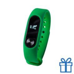 Smart watch 0,42 inch OLED groen bedrukken